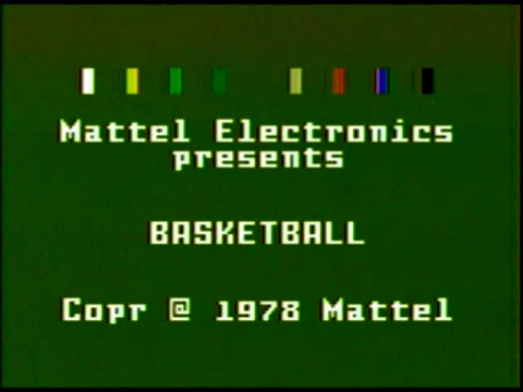 Basketball (Intellivision)