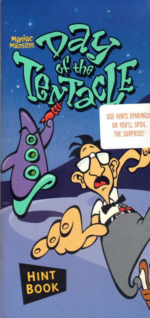 Day of the Tentacle (Hint Book)