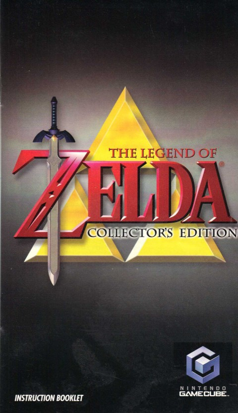 Legend of Zelda – Collectors Edition (Gamecube Manual)