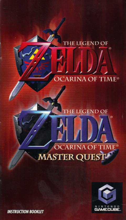 Legend of Zelda: Ocarina of Time – Master Quest (Gamecube Manual)