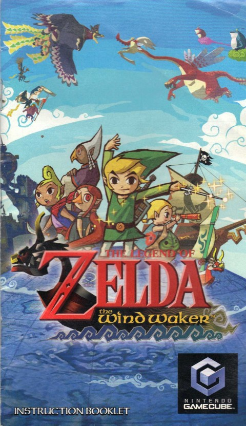 Legend of Zelda: Wind Waker (Gamecube Manual)