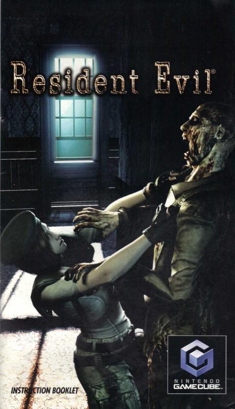 Resident Evil (Gamecube Manual)