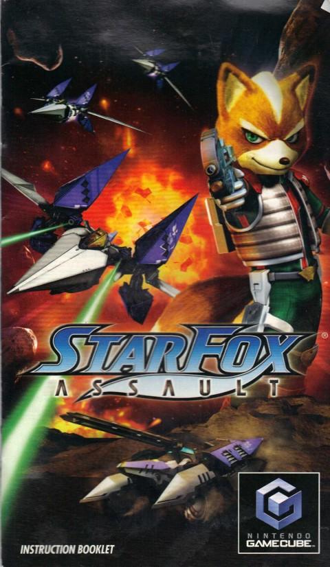 Starfox Assault (Gamecube Manual)