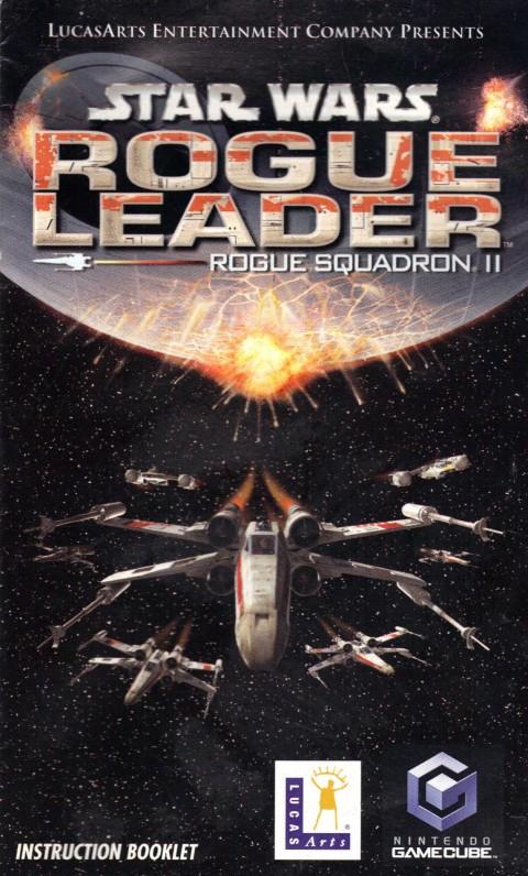 Star Wars: Rogue Leader (Gamecube Manual)