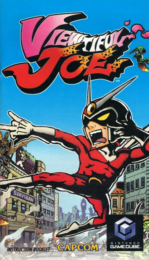 Viewtiful Joe (Gamecube Manual)