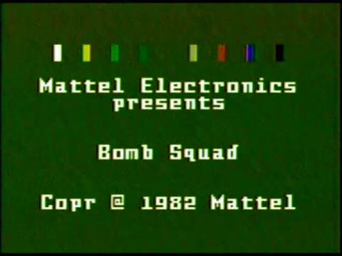 Bomb Squad (Intellivision)