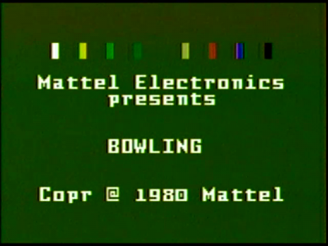 Bowling (Intellivision)