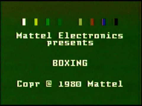 Boxing (Intellivision)