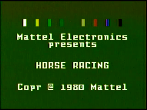 Horse Racing (Intellivision)