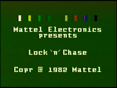 Lock n Chase (Intellivision)