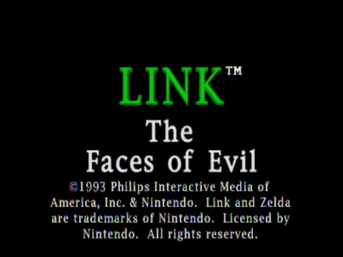 Link – The Faces of Evil (CD-i)