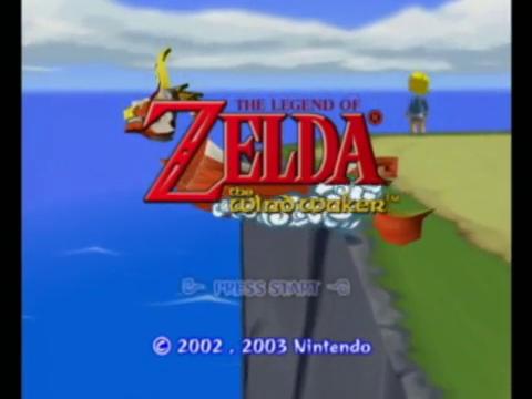 Legend of Zelda: Wind Waker (Gamecube)