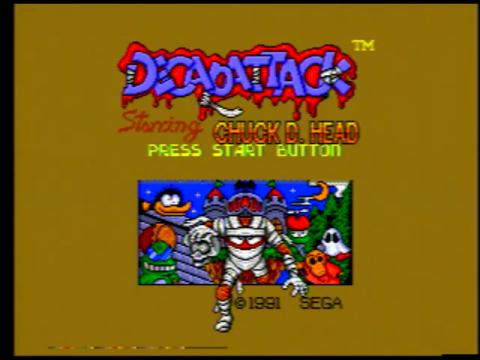 Decap Attack (Sega Genesis)