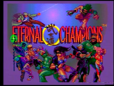 Eternal Champions (Sega Genesis)