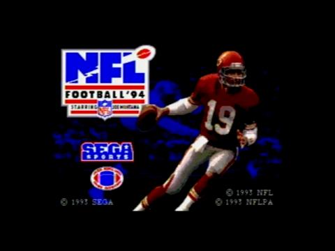NFL Football 94 (Sega Genesis)