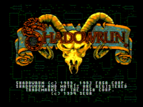 Shadowrun (Sega Genesis)