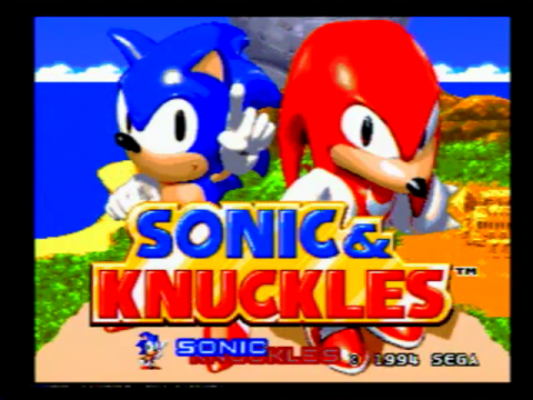 Sonic and Knuckles (Sega Genesis)