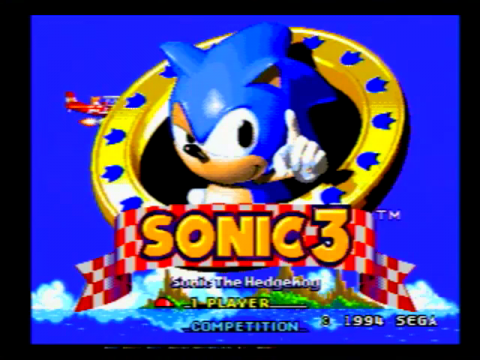 Sonic the Hedgehog 3 (Sega Genesis)