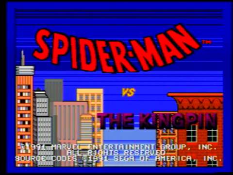 Spider-man vs the Kingpin (Sega Genesis)