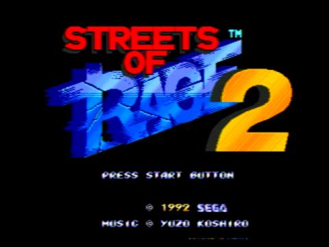 Streets of Rage 2 (Sega Genesis)