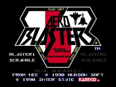 Aero Blasters (Turbografx)