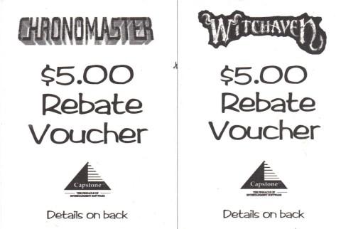 Capstone Rebate Vouchers
