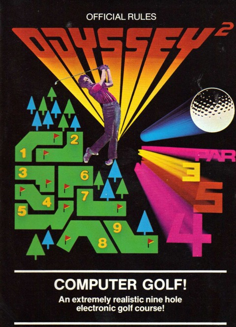 Computer Golf (Odyssey 2 Manual)