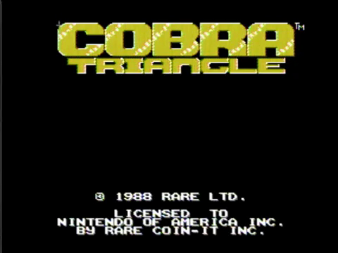 Cobra Triangle (NES)