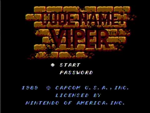 Codename Viper (NES)