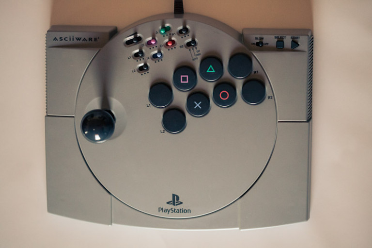 Asciiware Playstation Joystick