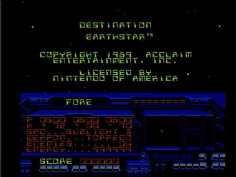 Destination Earthstar (NES)