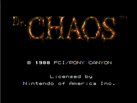 Dr Chaos (NES)