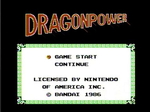Dragonpower (NES)