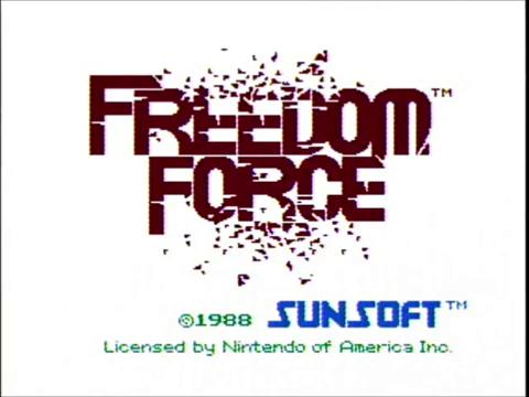 Freedom Force (NES)