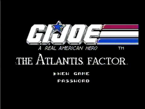 GI Joe: The Atlantis Factor (NES)