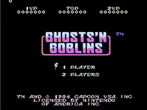 Ghosts n Goblins (NES)