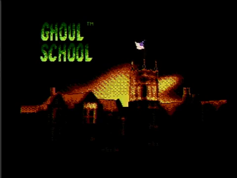 Ghoul School (NES)