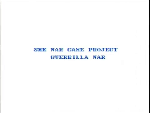 Guerrilla War (NES)