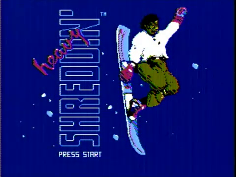 Heavy Shreddin (NES)