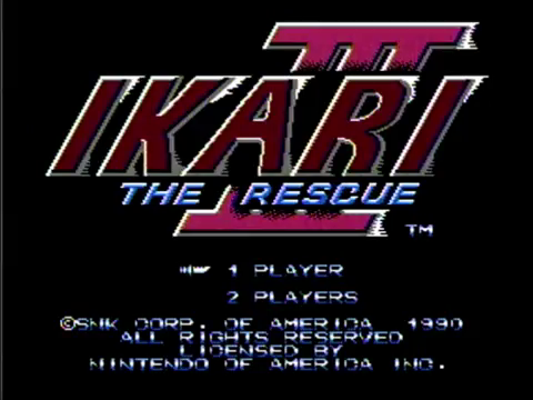Ikari III: The Rescue (NES)