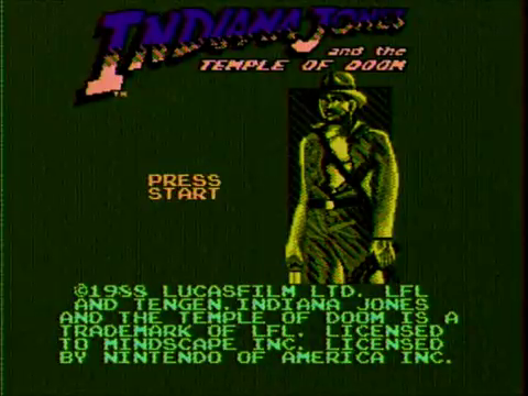 Indiana Jones and the Temple of Doom (NES)