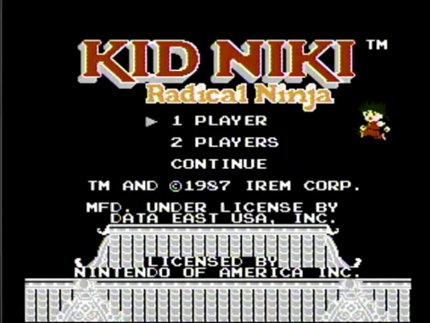 Kid Niki: Radical Ninja (NES)
