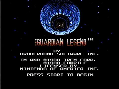 The Guardian Legend (NES)
