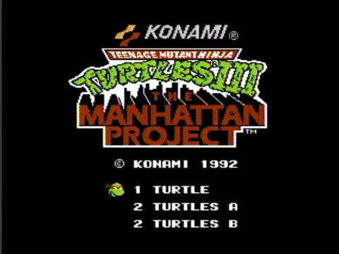 Teenage Mutant Ninja Turtles III: The Manhattan Project (NES)
