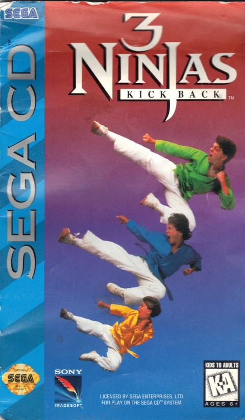 3 Ninjas (Sega CD)