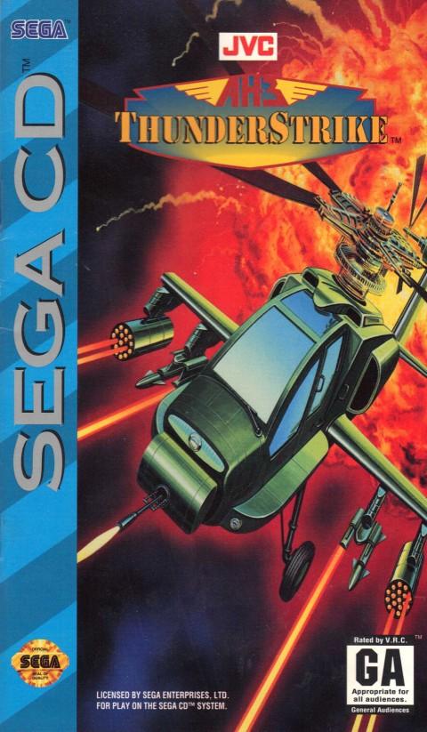AH-3 Thunderstrike (Sega CD)