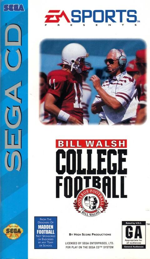 Bill Walsh College Football (Sega CD)