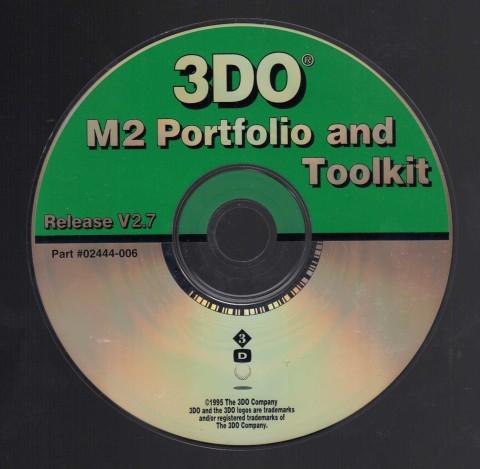 3DO M2 Toolkit 2.7 (CD)