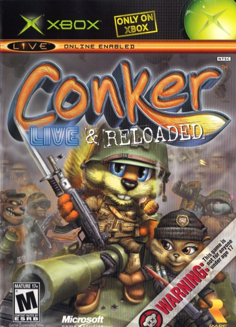 Conker: Live and Reloaded (Cover)