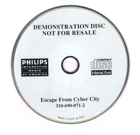 Escape from Cyber City – Demo (CD)